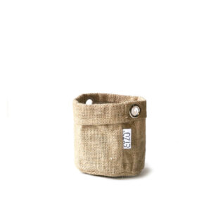 Sizo Jute Bag Metal Ring 11cm