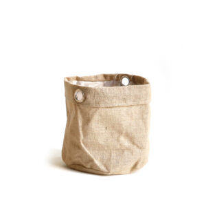 Sizo Jute Bag Metal Ring 13cm