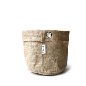 Sizo Jute Bag Metal Ring 15cm
